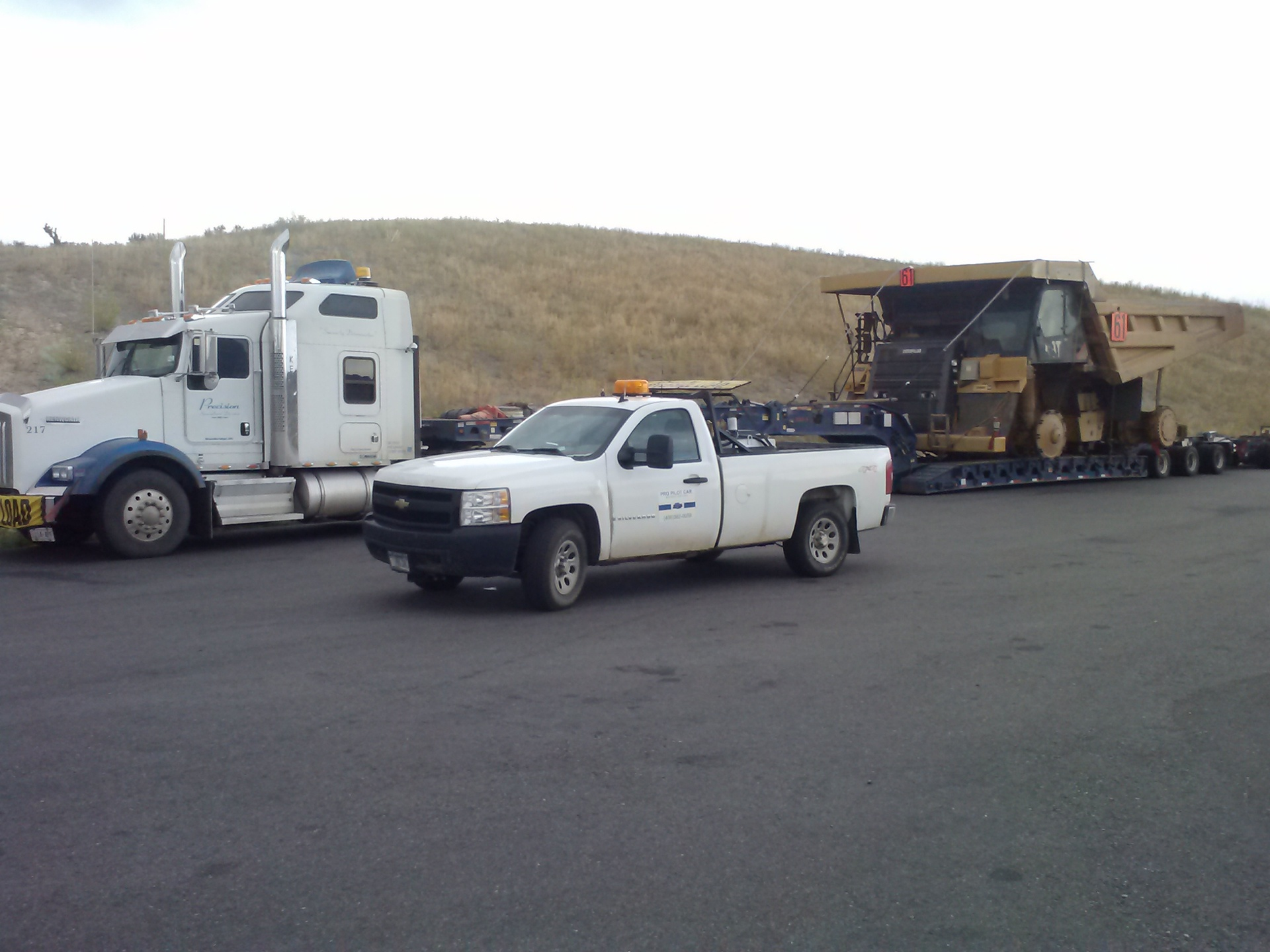 Rock truck to Pocatello